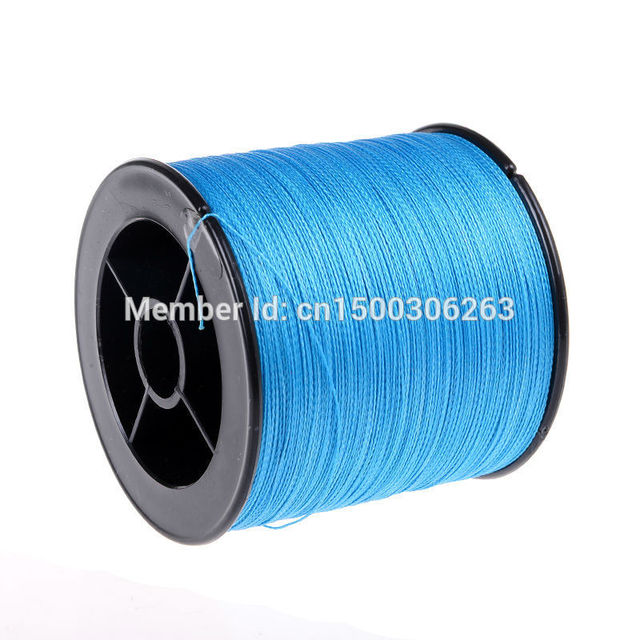 Good quality braided fishing line 500M pe super Japan Multifilament line Blue color braided  wire for fish fishing thread