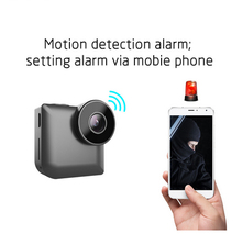 140 degree C3 Mini Camera Wireless WIFI IP Control by Phone HD 720P Infrared Night Vision And Motion Dection DVR Cam Support 64G