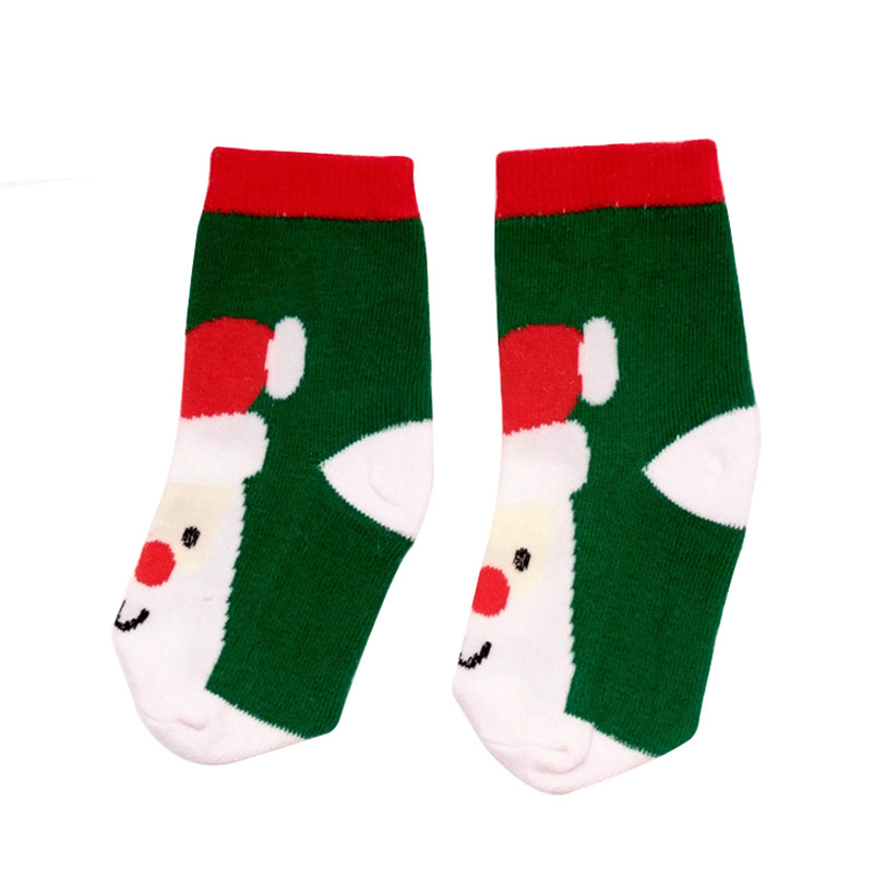 Baby Socks New Born Cute Cotton Socks kids Christmas Design Cartoon ...