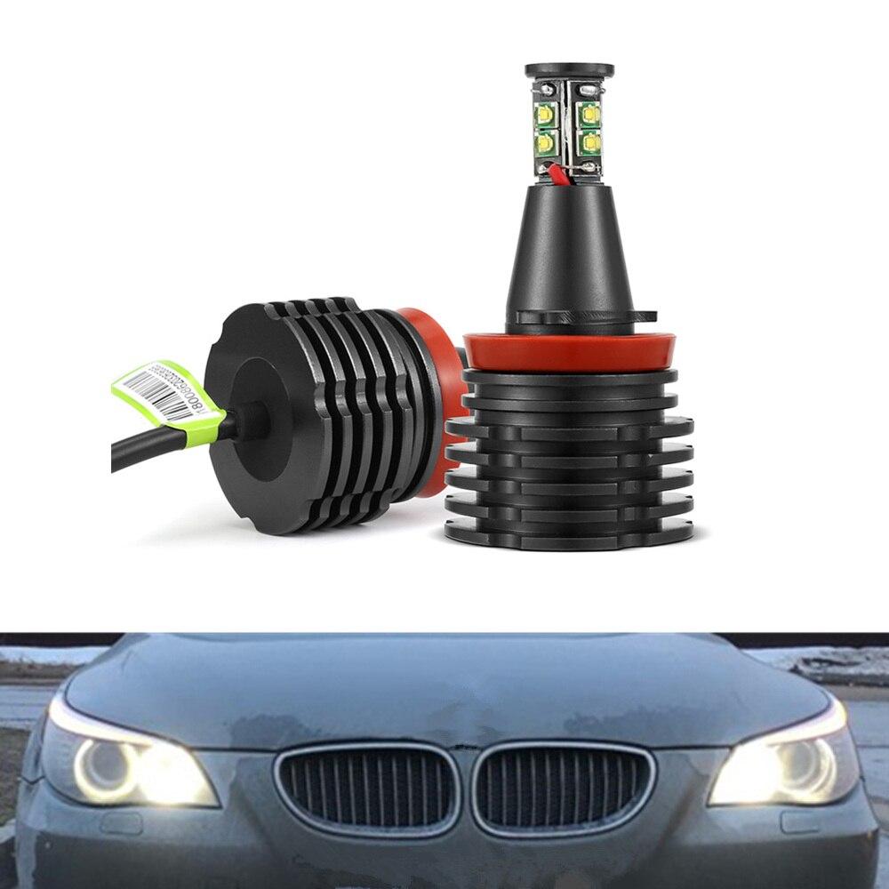 For BMW X5 E70 H7 501 100w Clear Xenon HID Low//Side Headlight Headlamp Bulbs Set