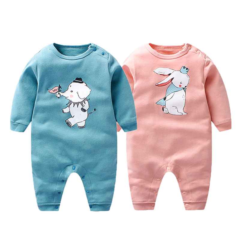 Baby Rompers Spring Baby Boy Clothes Cotton Baby Girl Clothing Newborn Clothes Roupas Bebe Infant Baby Jumpsuits Kids Clothes baby rompers 2017 new arrival cotton infant clothing long sleeve baby boy and girl body jumpsuit ropa bebe newborn clothes