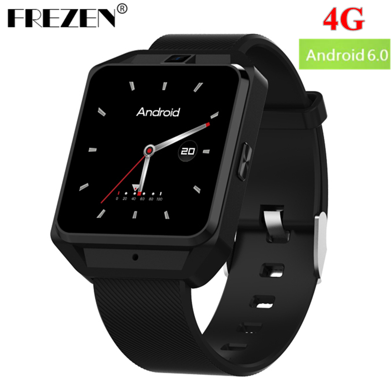 FREZEN M5 Smart Watch 4G Android 6.0 MTK6737 1G+8G WiFi Bluetooth GPS Smart Watch Men Heart Rate Monitor Smartwatch with 5.0MP