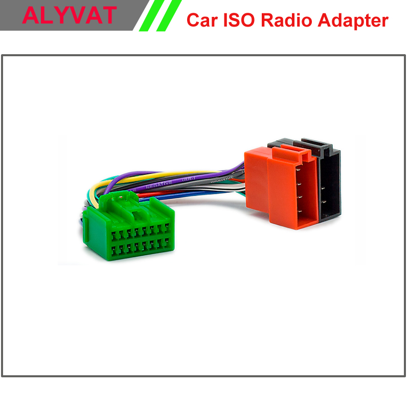 Car Stereo ISO Wiring Harness For Volvo S40 V40 S70 V70 S60 S80 Auto ...