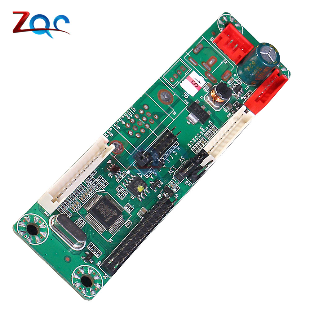 MT6820-MD V2.0 Universal Free Program Driver Board LVDS LCD Driver Board Support 10-42 Inch 108mmx28mm