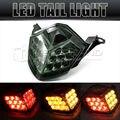 LED Traseira Da Cauda Luzes de Freio Sinal de Volta Luz Para Kawasaki Ninja ZX6R ZX10R Z750 Z1000 Smoke Freeshipping D05