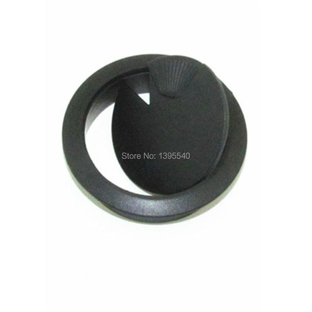 New 53mmComputer desk Wire hole cover Black Grommet Desk Table Cable ...