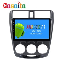 Dasaita 10 2 Android 7 1 Car GPS Player Navi For Toyota City With 2G 16G