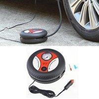 Car Mini Inflatable Pump Air Compressor Tire Design 12V Input Air Pumping Tire Pumps Voltage Electric