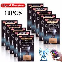10Pcs Cell Phone Signal Boosters -The Latest SP-1 Antenna GENERATION X PLUS Improve Signal Antenna Booster Outdoor Camping Tools(China)