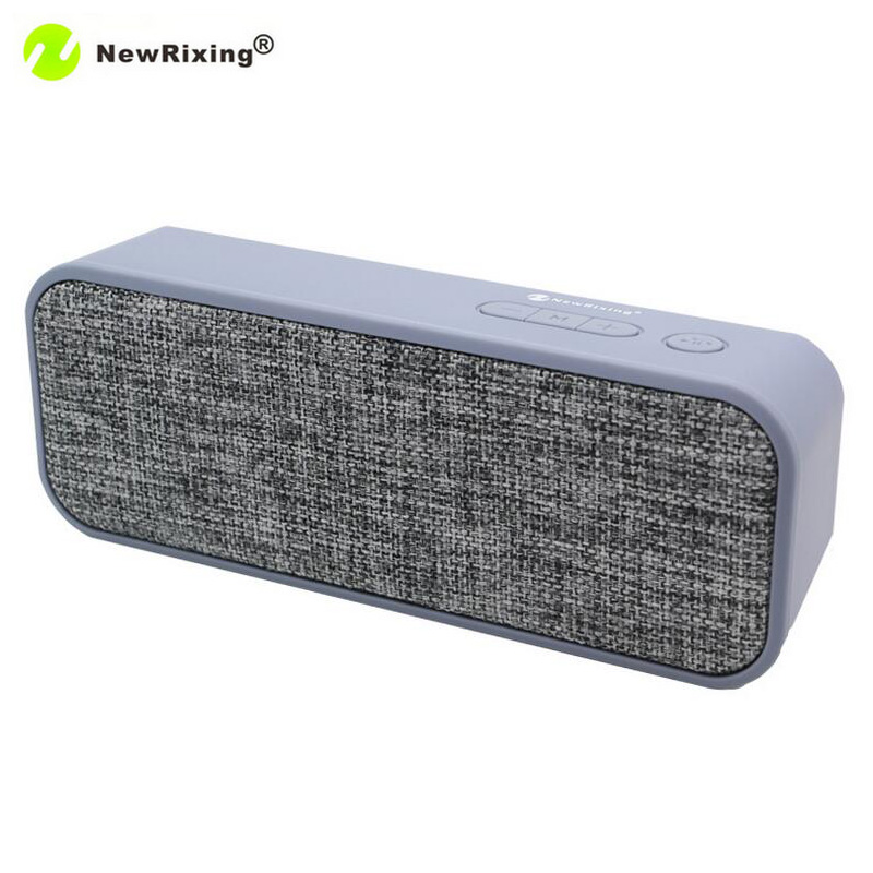 NewRixing NR-2016 Bluetooth Wireless Speaker Portable Mini Speakers FM support TF Card Loudspeaker Subwoofer Hands-free call