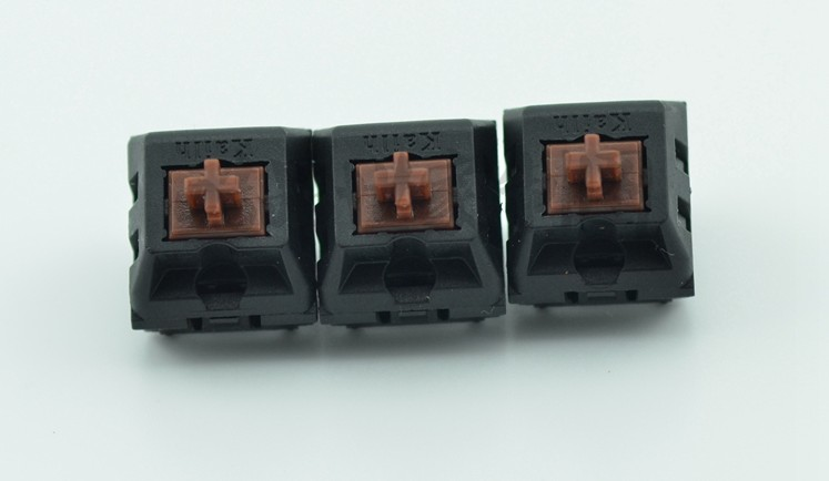 Wholesales 110 pcs lot Kailh MX switches 3 pin Black Red Brown Blue Shaft Replacement For