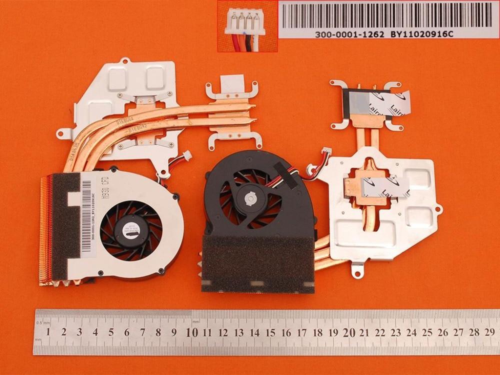 New Laptop Fan Heatsink for SONY For VAIO VPC-F1 VPCF1 VPCF11 VPCF12 VPCF13 PN:300-0001-1262 UDQFRRH01DF0 CPU Cooler/Radiator