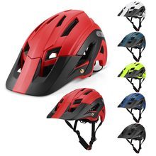 цена на Lixada Mountain DH Cycling Helmet MTB Down Hill Bicycle Helmet Ultralight Women Men In-mold Bike Helmet Casco Ciclismo Mountain