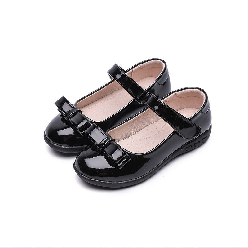 black school shoes for kids