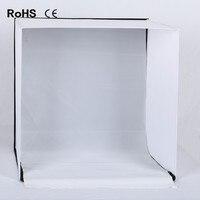 60 см 24 дюйма 24 дюйма Фотостудия Стрелялки Палатка свет квадратный софтбокс переносная сумка 4 фонов