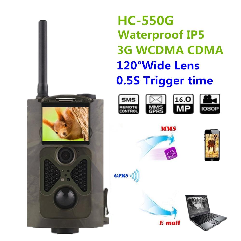 Hunting Cameras Suntek HC-550G 16MP Infrared Forest 3G Wildlife Surveillance 3G GPRS Game Cameras SMS GPRS Jakt Kamera HC550G hc   550g hunting camera four languages