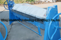 Easy to operate type iron sheet hand bender, TDF sheet metal folding machine for export