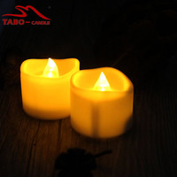 Flickering Candles Battery Operated Electric Tea Candles Led Flickering Flameless Tea Lights Candles for Party
