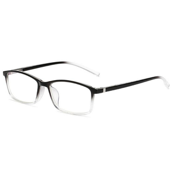 0 -1 -1.5 -2 -2.5 -3.0 To -6.0 نظارات قصر النظر النهائية للجنسين وصفة النظارات البصرية إطار أزرق أحمر شفاف أسود 1