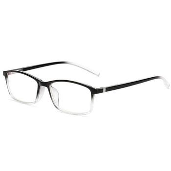 0 -1 -1.5 -2 -2.5 -3.0 To -6.0 Finished Myopia Glasses For Unisex  Optical Prescription Eyewear Blue Red Transparent Black Frame 1