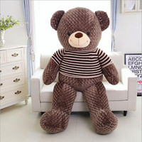 120cm Teddy Bear Hull Plush Toys Teddy Bears Hull Large Animal Coat Wholesale There Is No