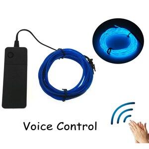 Voice Control Neon Light Dance