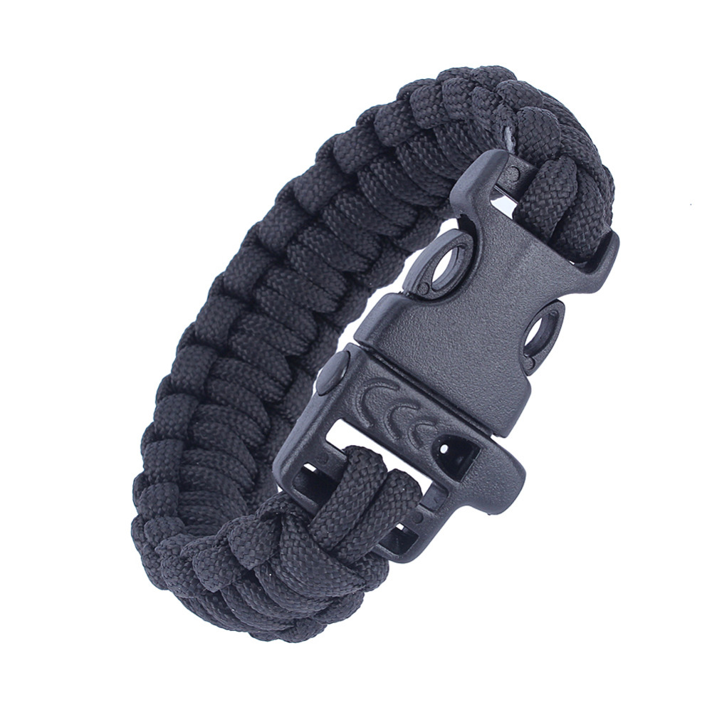 Purple Bag Parts & Accessories Wholesale 5pcs*7 Strand Survival Military Weave Bracelet Cord Buckle