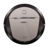 Deebot Intelligent Robot Vacuum Cleaner 1000Pa Sweep Vacuum Wet Mopping And Dry Upultra Thin Automatic Wiping