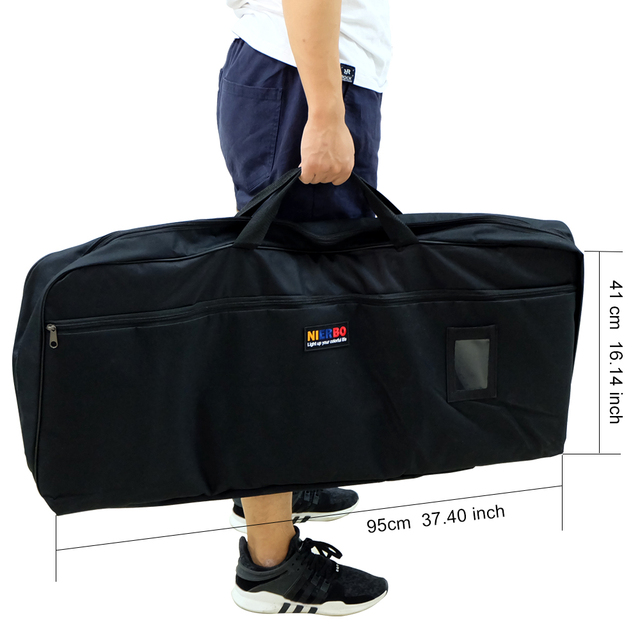 Nierbo Portable Projection Screen 100 120 Inch With Frame Tripod Projector Free Carry Bag Mate