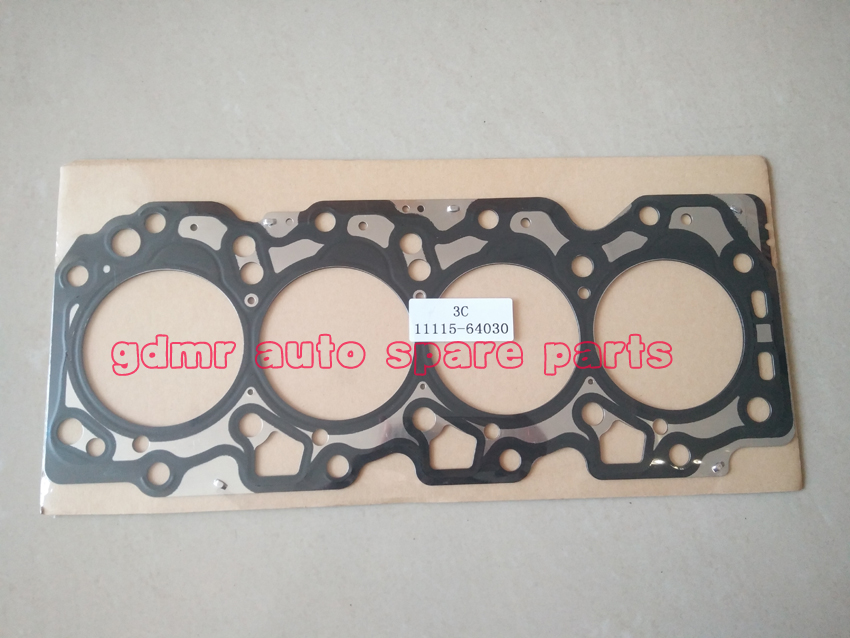 11115-64030 3c 3c-t 3c-te 3c-t 3cte Gasket Cylinder Head For Toyota Avensis Carina Picnic Corona Caldina 2.0d Large Assortment Engines & Components Engine Rebuilding Kits