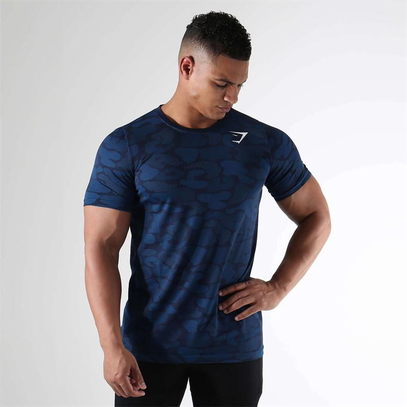 Global village NO.1.,LTD 2017 New Arrival Shark Stringer T shirt Men Bodybuilding and Fitness Men's Singlets Tank Shirts Gyms Clothes