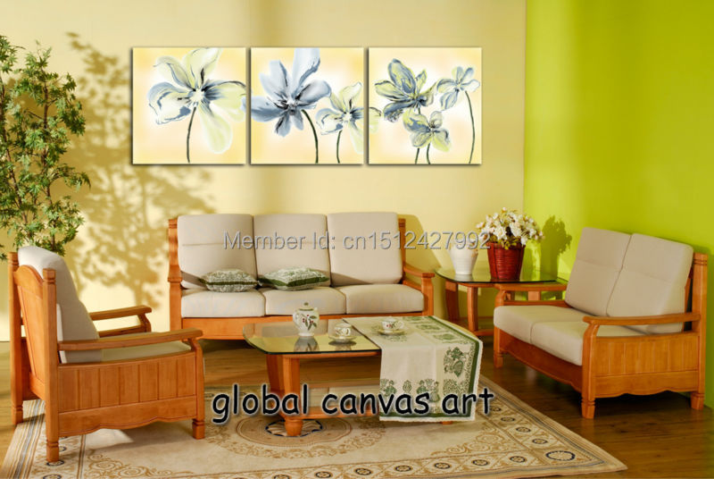 Online Get Cheap Light Blue Painting Wall Decor -Aliexpress.com ...