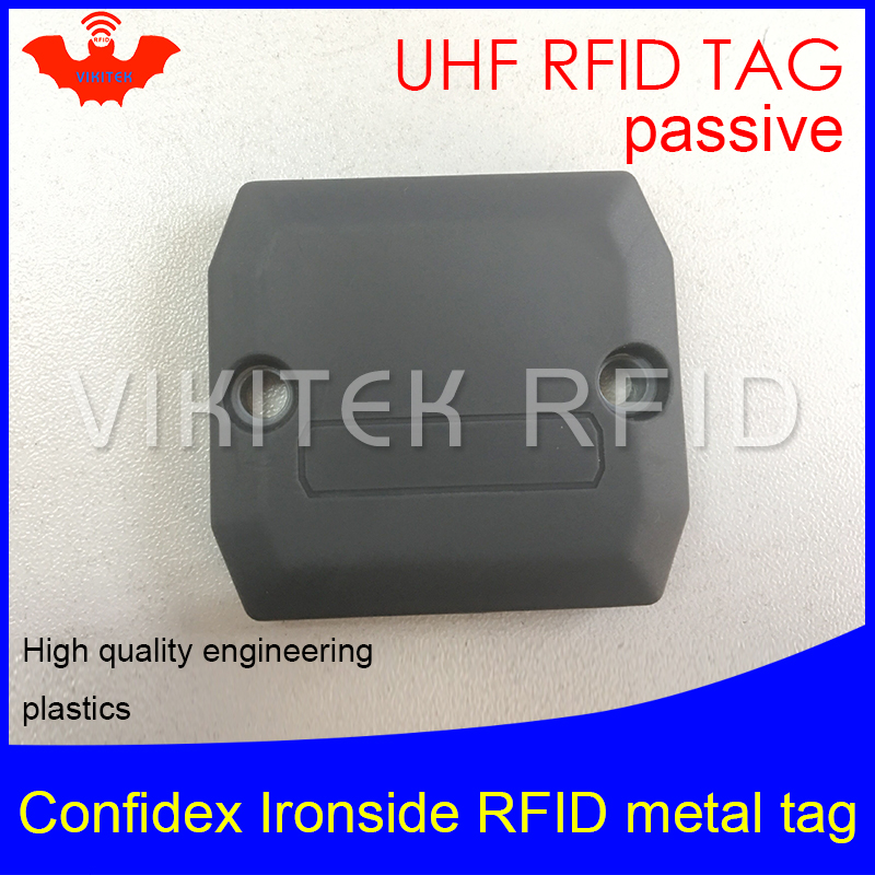 UHF RFID anti-metal tag confidex ironside 915mhz 868mhz Impinj Monza4QT EPCC1G2 6C durable ABS smart card passive RFID tags uhf rfid anti metal tag 915mhz 868mhz higgs3 epcc1g2 6c 13 5 21 12 8mm durable abs stocking shelves smart card passive rfid tags