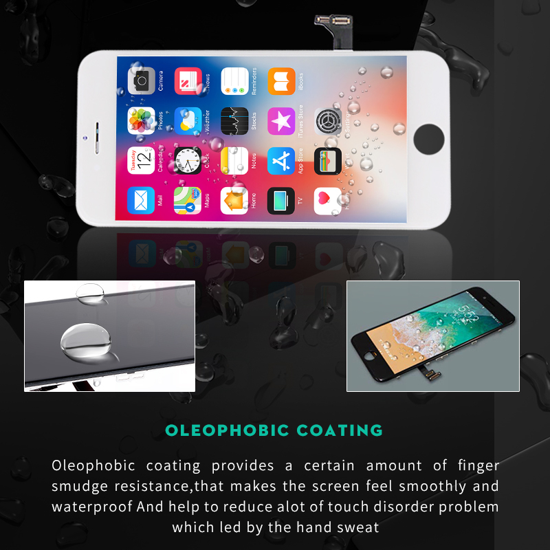 Premium LCD For iPhone 7 8 plus Display High Brightness Screen with Touch Digitizer assembly Replacement Pantalla in Mobile Phone LCD Screens from Cellphones Telecommunications