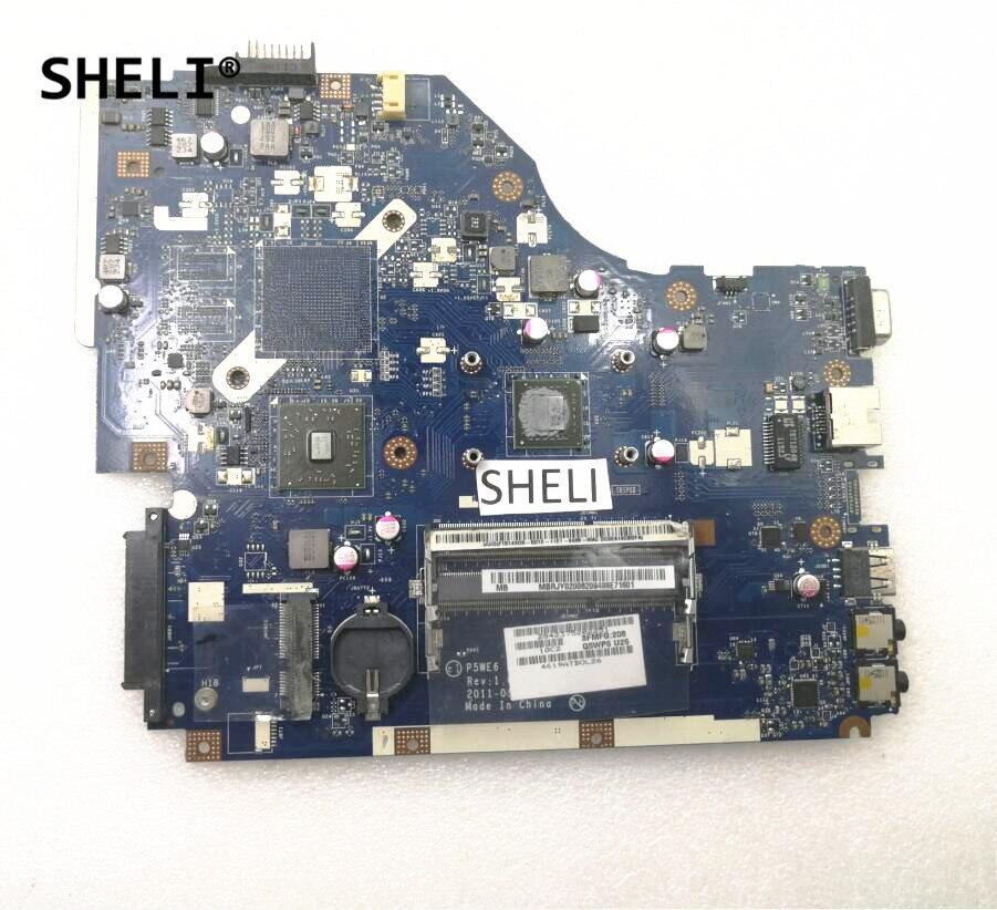 SHELI For Acer 5250 Motherboard E-450 P5WE6 LA-7092P
