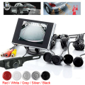 New Waterproof 3.5 Inch Rear View Monitor With Parking Kit System Sensors Backup Reverse Tft Lcd 420 TV Lines