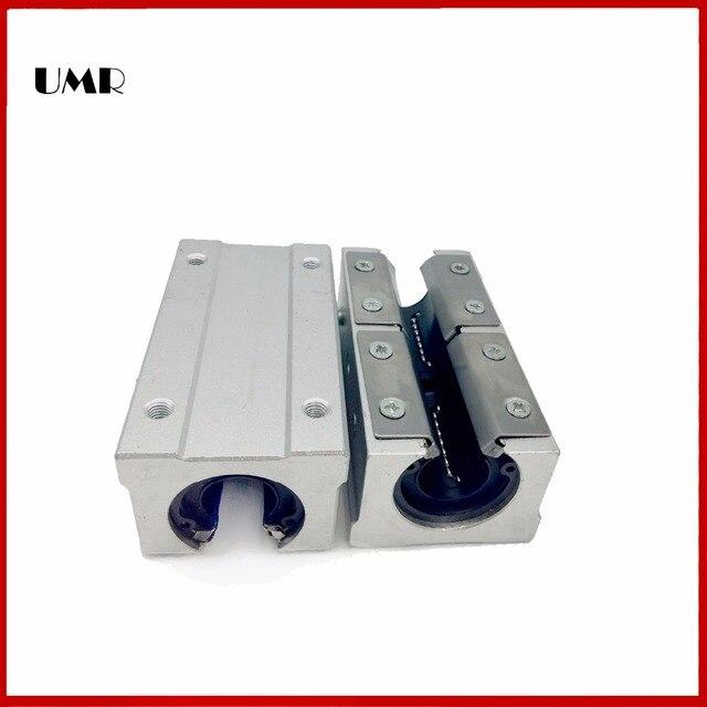 2pcs SBR25LUU / sme25Luu SBR25 LUU 25MM SHAFT Linear sbr cnc linear guide Bearings SME25 LUU