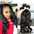 Grade 8A Unprocessed Virgin Hair Malaysian Body Wave 4Pcs Lot Malaysian Hair Weave Bundles Soft And Thick Body Wave Bundles