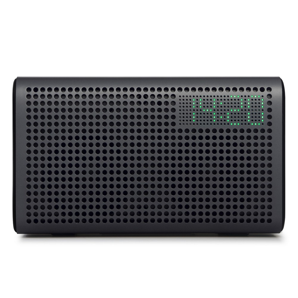 GGMM E3 Wireless Bluetooth Speaker Audio Receiver WiFi HiFi Music Stereo Sound Computer Speakers with LED Alarm Loudspeakers