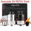Original E-Cigarettes RDTA Atomizer Geekvape Avocado 24 RDTA 5.0ml Tank  Velocity deck Hinge lock fill system VS Toptank mini YY