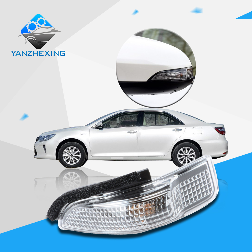 Side mirror turn signal lamp repeater light for toyota corolla camry yaris prius c avalon for