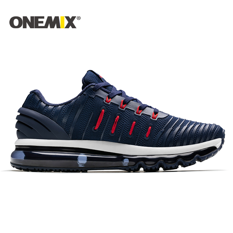 ONEMIX men running shoes 2018 new Air cushion running shoes men Breathable Runner mens athletic shoes Sneakers for men size39-46