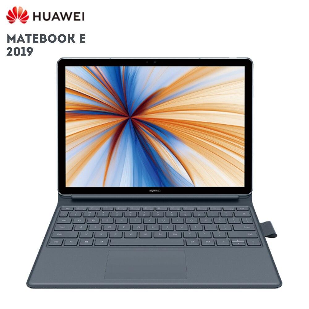 Nouveau HUAWEI MateBook E 2019 12.0 pouces ordinateur portable Windows 10 Qualcomm SDM850 8 GB 256 GB capteur d'empreintes digitales 4G tablette PC