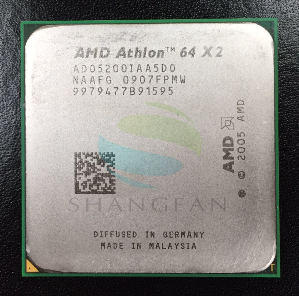 Ado5200dobox Amd Athlon 64 X2 5200 Socket Am2 Cpu Retail Processors Computers Accessories