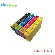 4pcs 16 16XL Compatible ink cartridge for Epson WorkForce 2010 2510 2520 2530 2540 2750 2760 printer T1631 T1621