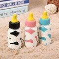 New Cute Squeeze Milk Nursing Bottle Toy Cute Kawaii Mini Lovely Pendant 10x4cm Best Chirsmas Gift Funny Toys For Girls