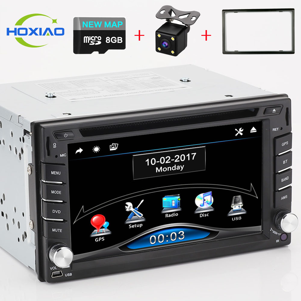 car dvd gps player 2 din car video players auto radio. Black Bedroom Furniture Sets. Home Design Ideas