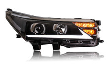 Free shipping for Vland Car Headlight For Toyota Corolla headlight 2014 2015 With H7 Xenon lamp