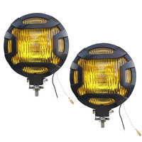 2pcs 55W Super Bright Offroad Driving Lamp H3 Halogen 4300K Flood Car Headlight Bulb Fog Light