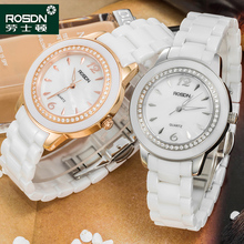 ROSDN 2016 New Watch Women Brand Luxury Fashion Casual Quartz Ceramic Watches Lady Relojes Mujer Women